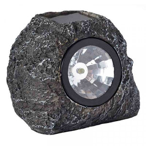 Smart Solar Granite Rock Spot Lights - Pkt 4