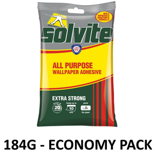 Solvite Extra Strong Wallpaper Adhesive - Various Sizes