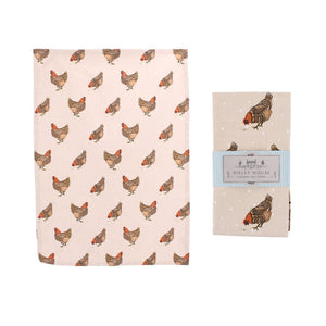 CGB GB00168 Chicken Cotton Tea Towel