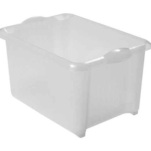 Addis 510048 Unistore Box Clear 30Ltr