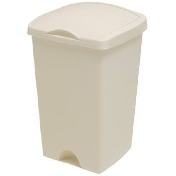 Addis 510647 50Ltr Lift Top Bin - Linen