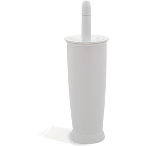 Addis 510284 Closed Toilet Brush & holder Set White