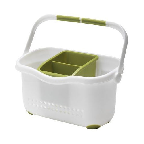 Addis 513830 Sink Caddy - White/Green