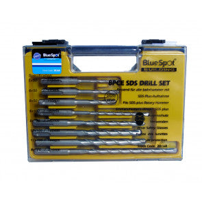 Blue Spot 20168 8 PCE SDS Plus Drill Bit Set (5-12mm)
