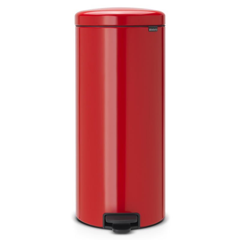 Brabantia 11.18.08 NewIcon Pedal Bin 30Ltr - Passion Red