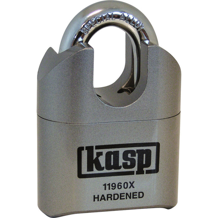 Kasp K11960XD High Security Combination Padlock - Closed Shackle