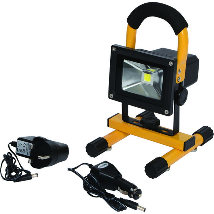 CK T9710R 10W Rechargeable LED Flood Light 600 Lumens