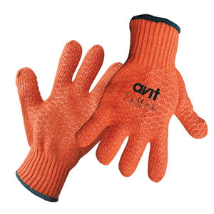 Avit AV13079 Orange Gripper Gloves - Extra Large