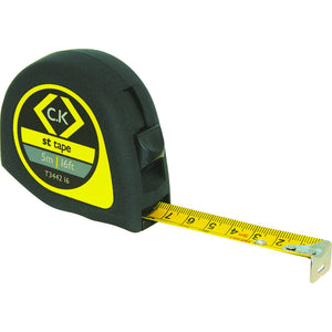 C.K T344216 Softech Tape Measure 5 Metre