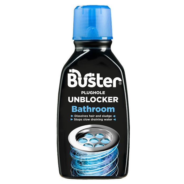 Buster Bathroom Plughole Unblocker 300ml