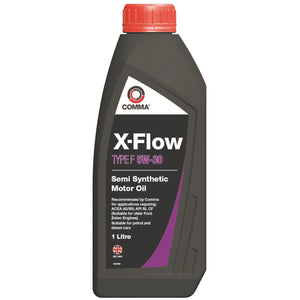 Comma XFF1L X-Flow Type F 5W-30 Semi Synthetic Motor Oil - 1 Litre