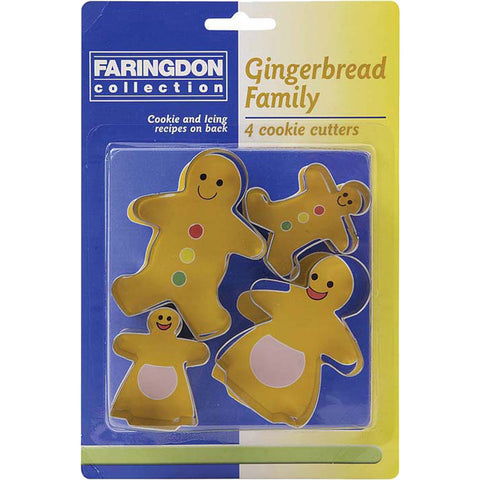 Dexam 17848894 Gingerbread Family cookie cutter set