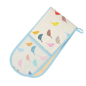 Dexam 16150261 Little Birds Double Oven Glove