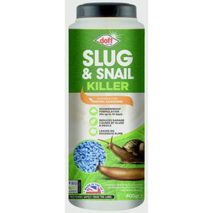 Doff F-AG-400-DOF Slug & Snail Killer Blue Mini Pellets 400g