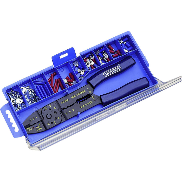 Draper 13658 5 WAY CRIMPING TOOL AND TERMINAL KIT