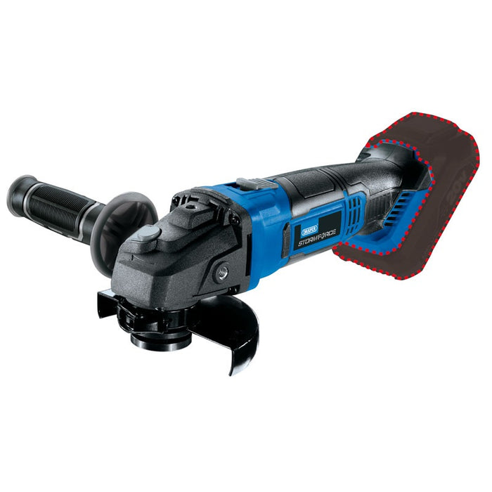 Draper 89521 Storm Force 20V 115mm Angle Grinder - Bare Unit