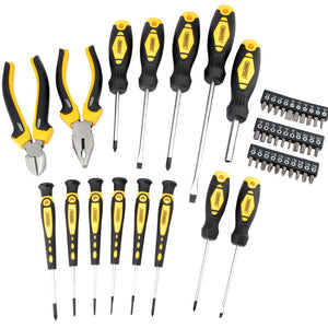 Draper 09552 DIY Series 45Pce Soft Grip Screwdriver & Pliers Set