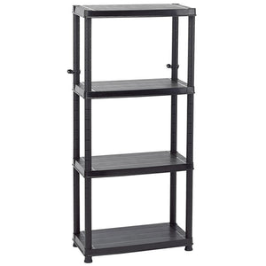 Draper 23230 4 Tier Plastic Shelving Unit - 600 x 300 x 1310mm