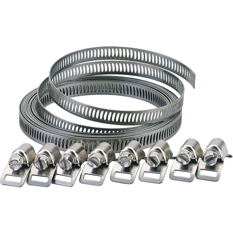 Draper 55591 8mm Wide Hose Clamp Set