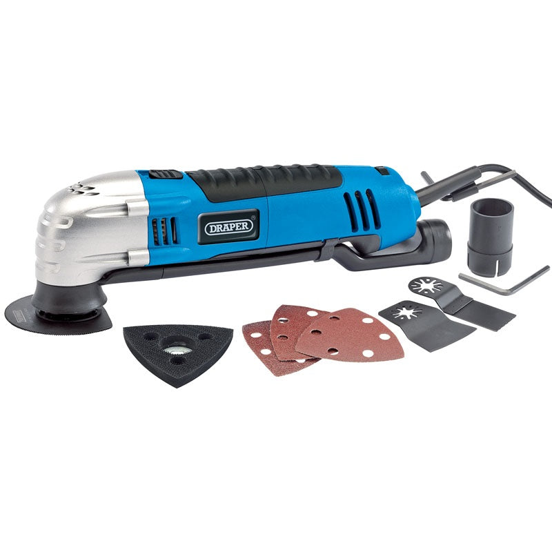 Draper 23666 Oscillating Multi-Tool Kit 300W 230V