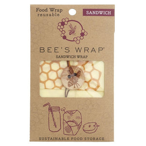 Bee's Wrap 1531313 Sandwich Food Wrap 33cm x 33cm