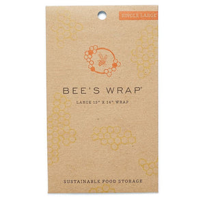 Bee's Wrap 15311314 Single Large Food Wrap 33x35cm