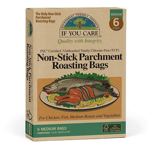 If You Care 153J25073 FSC Parchment Roasting Bags Pack of 6 Medium
