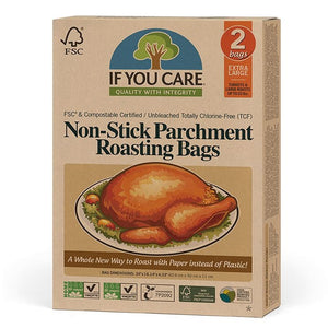 If You Care 153J25072 FSC Parchment Roasting Bags Pack of 2 Extra Large