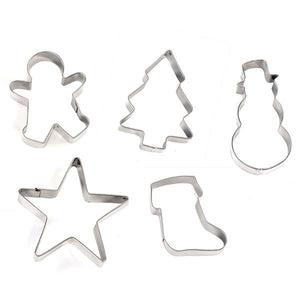 Eddingtons 853005 Christmas Stainless Steel Cookie Cutter - Various Designs