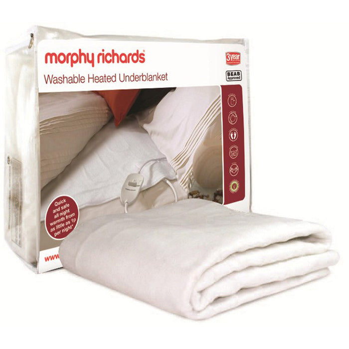 Morphy Richards 600112 Washable Heated Underblanket - Double