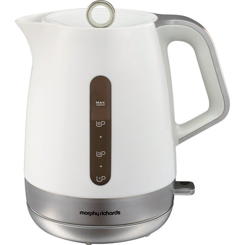 Morphy Richards 101403 Chroma White Plastic Jug Kettle