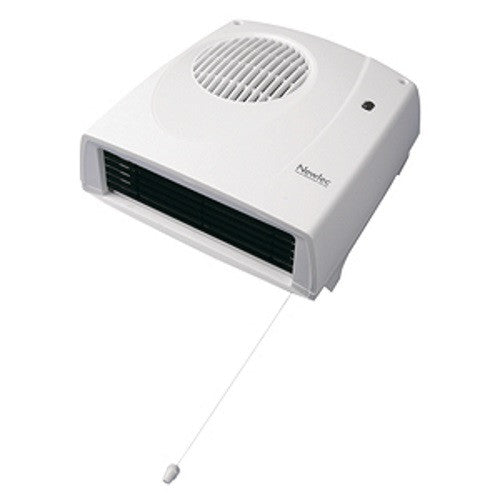 Newlec NLBDHN Downflow Fan Heater 2kW with Thermostat