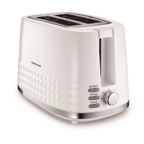 Morphy Richards 220023 Dimensions Toaster 2 Slice - White