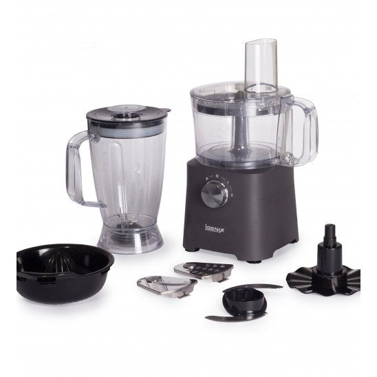 Igenix IG8710 500W Food Processor – Matt Grey