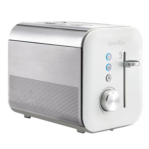 Breville VTT686 High Gloss Collection Toaster 2 Slice White