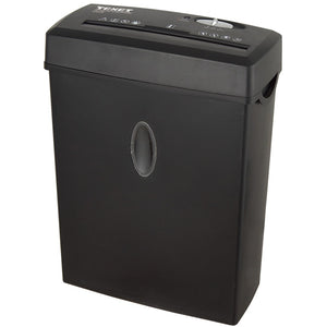 Texet CC612N Cross Cut Paper Shredder A4 6 Sheets - Black