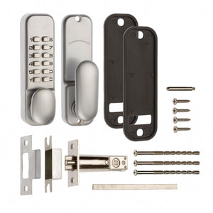 Era 3003-35-1A Push Button Digital Door Lock Satin Finish