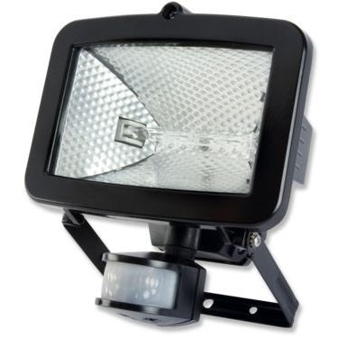 Timeguard SLB100G 100w Halogen Flood Light with PIR - Black