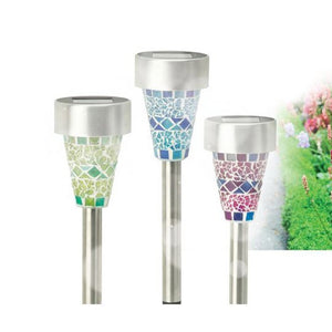 Cole & Bright L21104 Solar Mosaic LED Border Light Pkt6