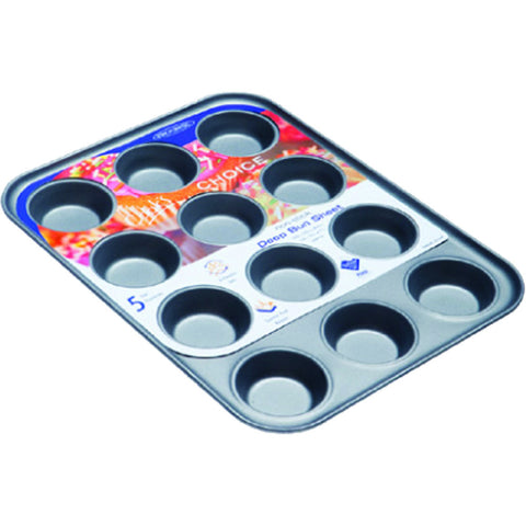 George Wilkinson BUNS0006 12 Cup Bun Tin (deep)