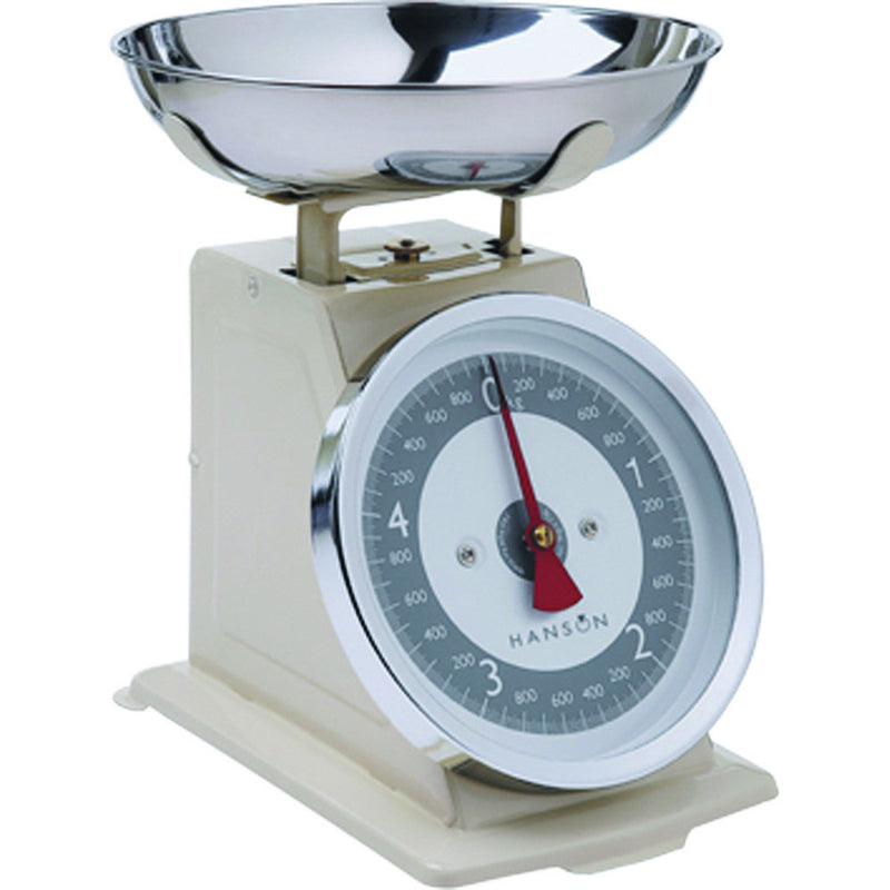 Hanson Tradition Mechanical Scale - Various Colours