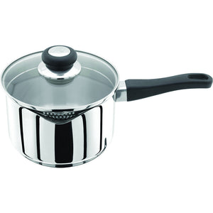 Judge Vista J306 18cm Deep Saucepan with Straining Lid