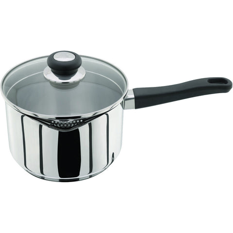 Judge Vista J307 20cm Deep Saucepan with Straining Lid