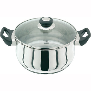 Judge Vista JJ37 Casserole 24cm with Glass Lid