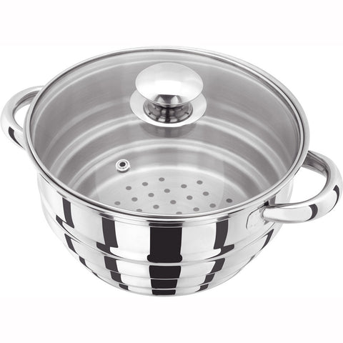 Judge Basics HX12 Multi Steamer with Glass Lid