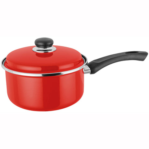 Judge Induction JT07 Saucepan 20cm with Lid - Red