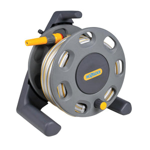 Hozelock 2412 Free Standing Hose Reel with 25Mtr Hose
