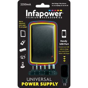 Infapower P004 Universal Power Supply 2250mA