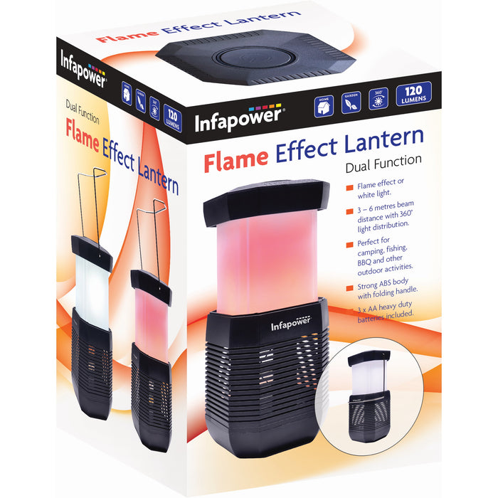 Infapower F056 Flame Effect Lantern - Dual Action