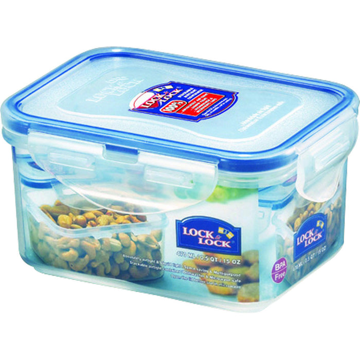 Lock & Lock HPL807 Rectangular Storage Box 470ml